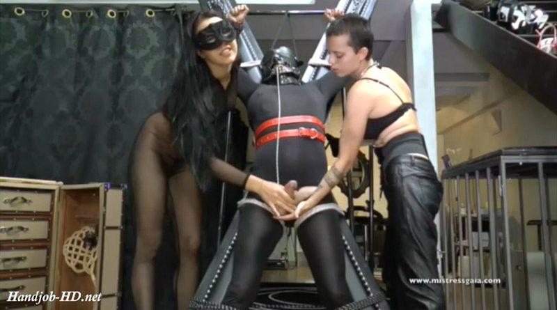Mistress Gaia – Double Handjobs