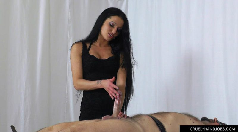 On the brink – Cruel Handjobs – Mistress Tatjana