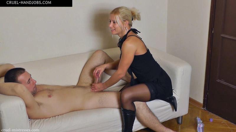 Playing Cruel Handjobs Mistress Zita