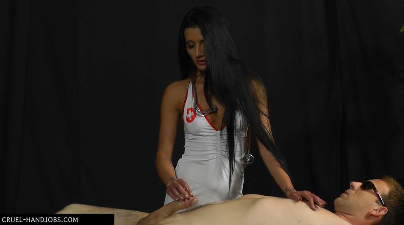 At the doctor's – Cruel Handjobs – Mistress Tatjana