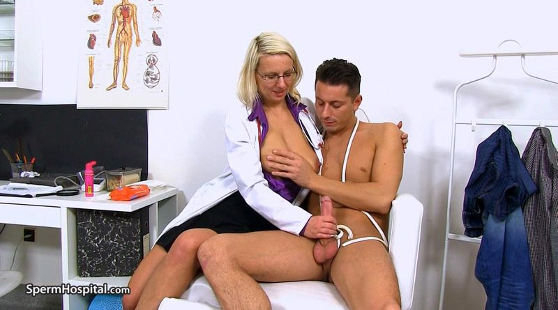 Hospital CFNM featuring European MILF doctor Sima – Sperm Hospital