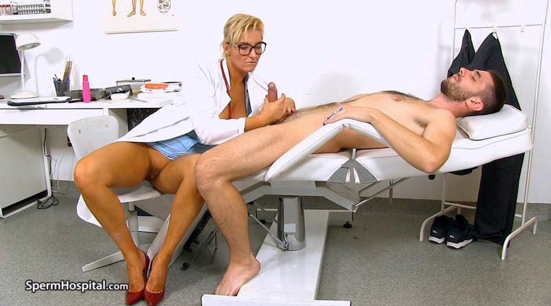 Leggy Milf doctor Brigitte unexpected cum-in-mounth – Sperm Hospital