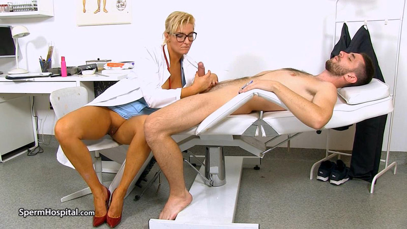 Leggy Milf doctor Brigitte unexpected cum-in-mounth – Sperm Hospital