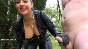 Milked and ruined in the garden – Mistress Ezada Sinn