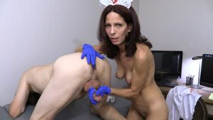 Nurse Stacie – Pulled Back HJ, BJ + Butt Play – Wife Crazy Clip Store