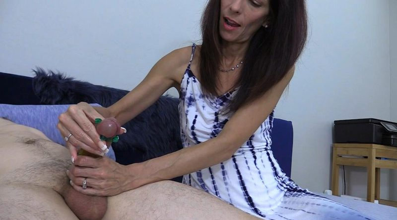 Rings Around the Cock Handjob – Wife Crazy Clip Store
