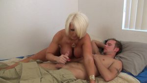 Son's Morning Wood – TABOO – Alura Jenson