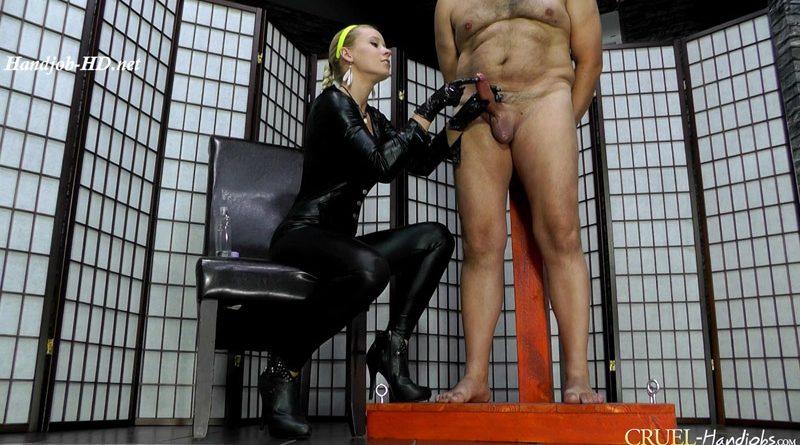 Agonizing orgasm – Cruel Handjobs – Mistress Anette