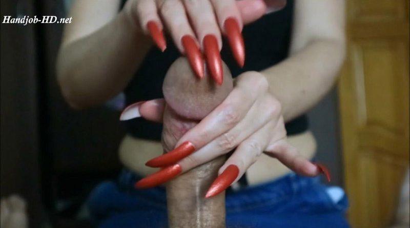 Best red nails make 6 shots – HJ Goddess TEASE