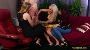 It's Been Ages – Pure CFNM – Amina Danger, Louise Lee, Melody Pleasure