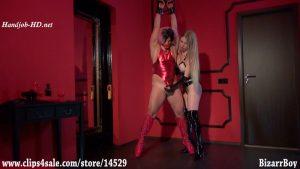 Lady Estelle – A Dildo Deep In The SissyThroat – Femdom-Clips by BizarrBoy