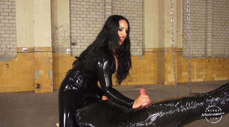 Used In Clingfilm By Mistress Ezada – Kinky Mistresses