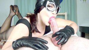 Cat Woman 69 Close Up Blow Job – Galas Balloons and Fetish Clips