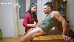 Side Effect – Darling, this is the First Day of Your Virginity! : Super Hot Handjob and Huge Load into my Mouth – Wonderful Life of Eva Marcu