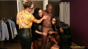 Suits You Sir – Pure CFNM – Chantelle Fox, Hannah Shaw, Samantha Page, Sapphire Rose 1080p