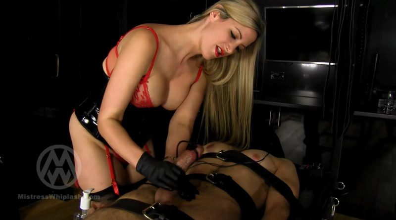 60 minute edging, tease & denial milking – Mistress Nikki Whiplash