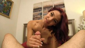 Daddy gets a handjob for a shopping trip – Taboo POV – Evelin Stone