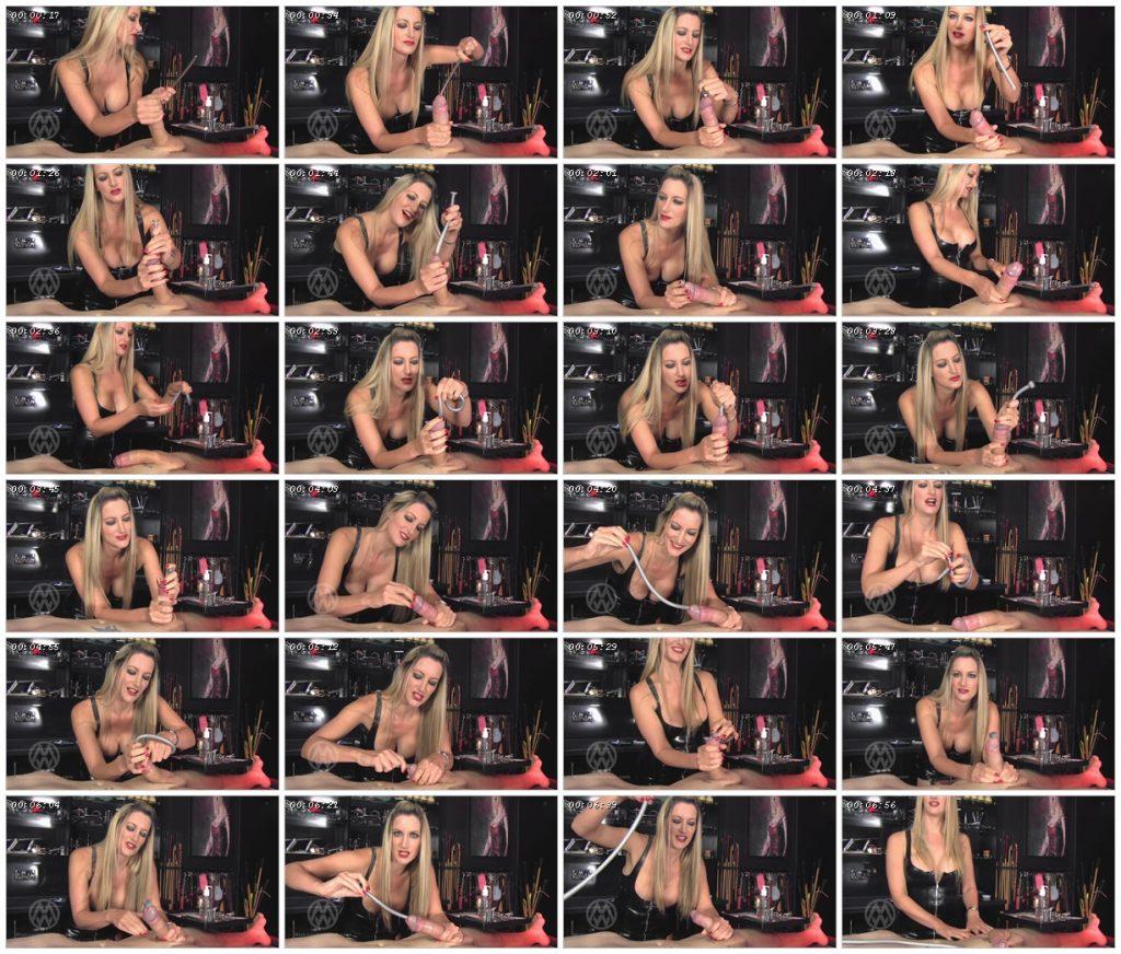 Extreme urethral stretching & depth training – Mistress Nikki Whiplash_scrlist