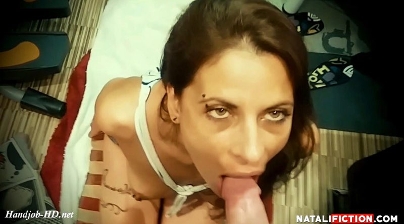 Handjob, blowjob and Facial Cumshot – Natali Fiction
