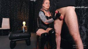 Huge erection – Cruel Anettes Fetish Store
