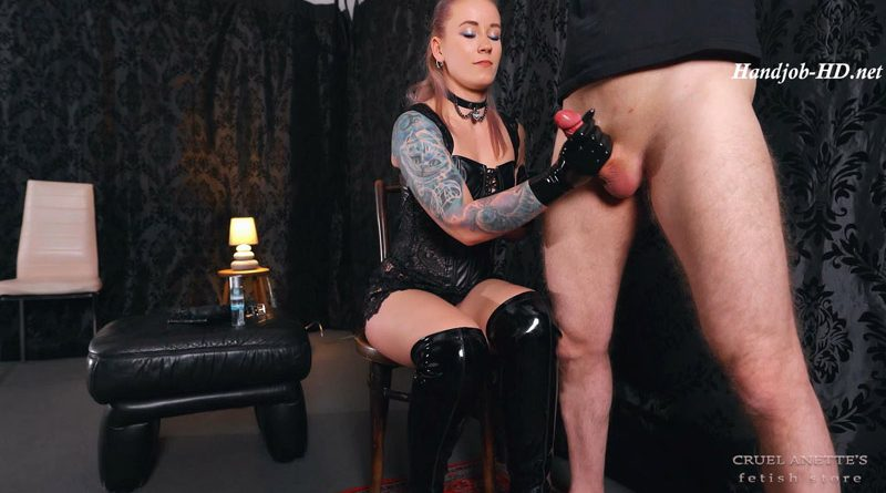 Huge erection – Cruel Anettes Fetish Store
