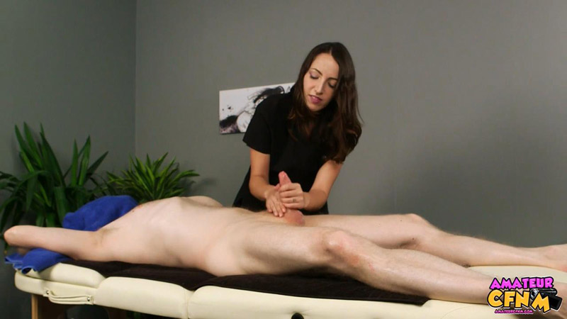 Oral Massage – Amateur CFNM – Liz Rainbow