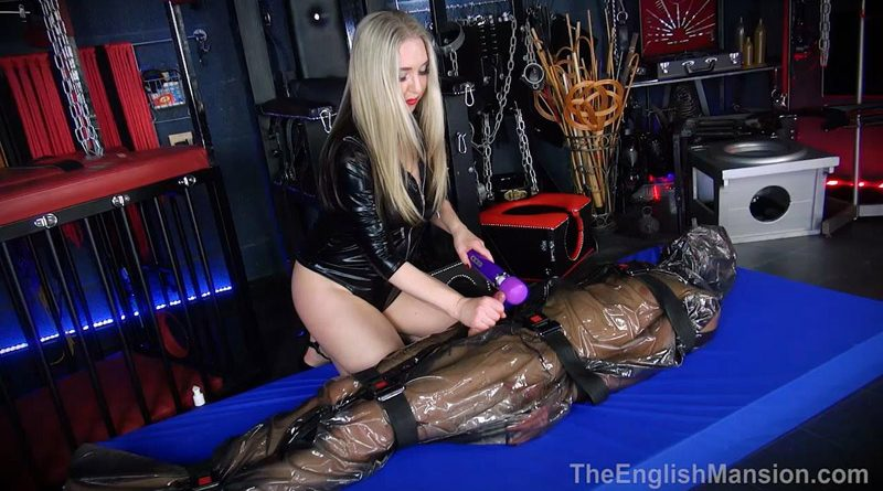 Plastic Sack Tease – The English Mansion – Mistress Sidonia