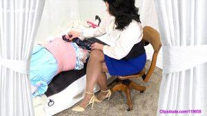 Satin Scarf Handjob – Forced By Mommy