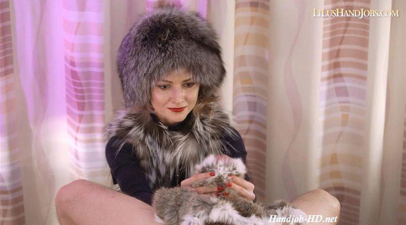 Fur HandJob with a Rabbit Fur – I JERK OFF 100 Strangers hommme HJ