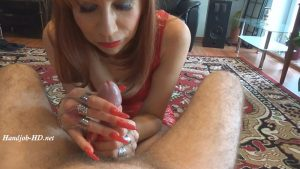 Hard Cock Tease With Long Red Fingernails – Fetish Lady Imperatriza
