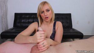 Kate England handjob skills – Teen Tugs