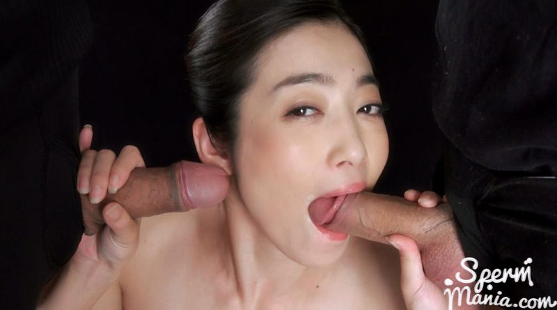 Ryu Enami Gives Sloppy Cum Covered Blowjob – Sperm Mania