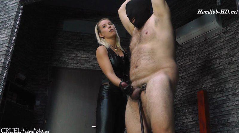 Slippery lube – Cruel Handjobs – Mistress Anette