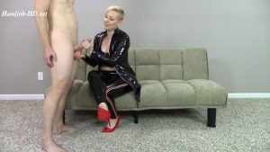 Super Shiny PVC Worn for Sit Down Handjob Blow Job Talking Cumshot on PVC Top – Amateur Clips By Sexy Fantasies