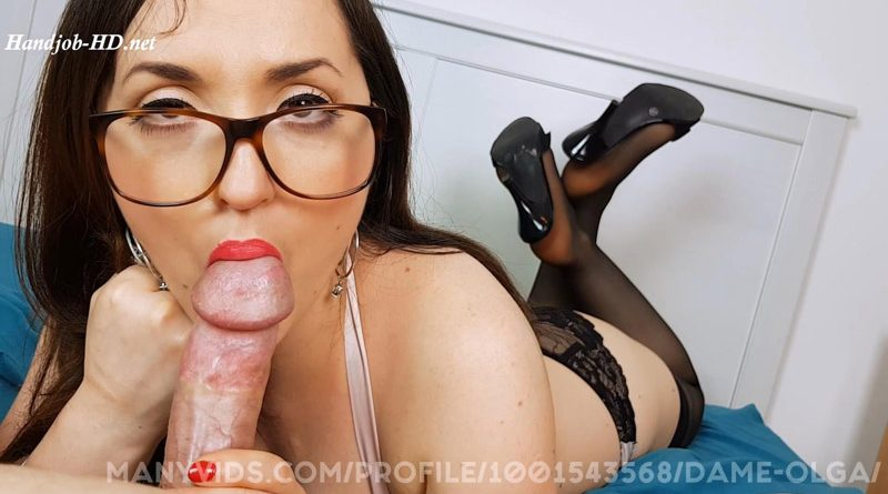 Edging Blowjob Vol 4 How Long Can You Last – Dame Olga's Fetish Clips