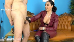 Cum or castration – Mistress Ezada Sinn MP4