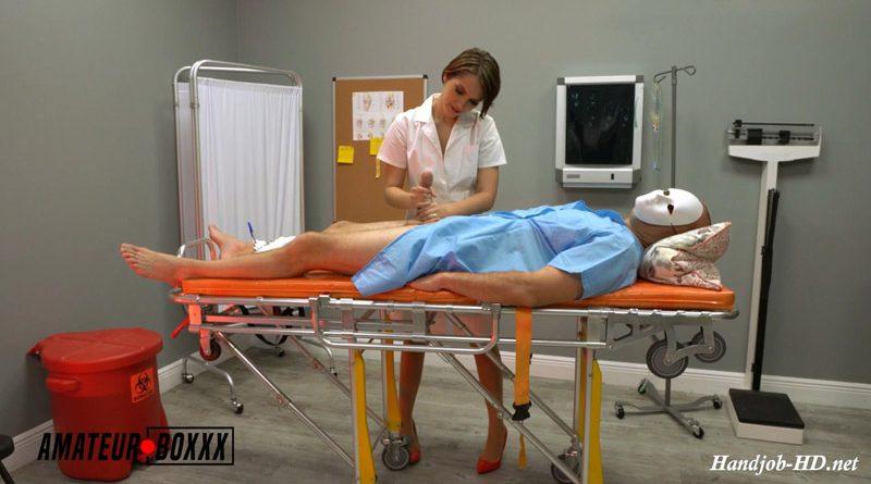 Handjob From Psycho Nurse Natalie – AmateurBoxxx
