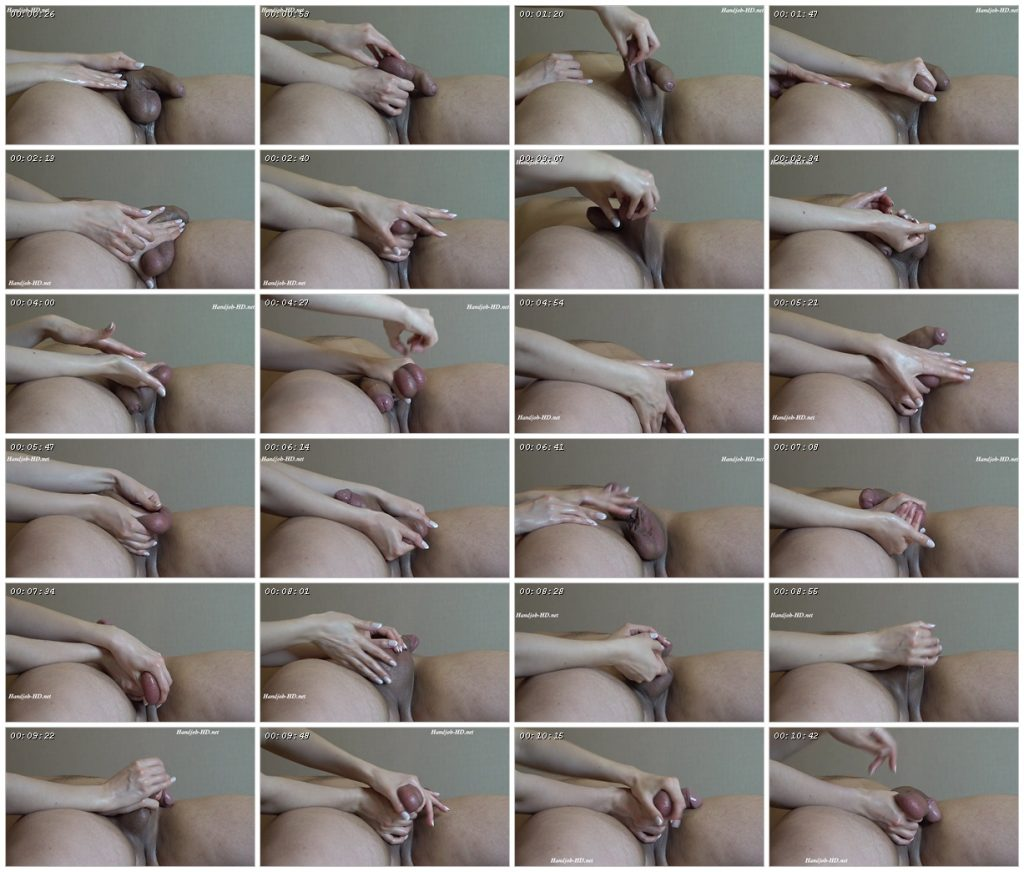 Hj_18 Ball massage (1080p mp4) - Homemade Cumshots Footjob Handjob_scrlist
