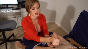 Mom Gives Son's Best Friend A Handjob – Ivy Secret