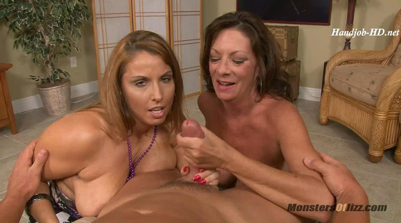 Mom and Friend Suck My Big Cock!! – Monsters Of Jizz