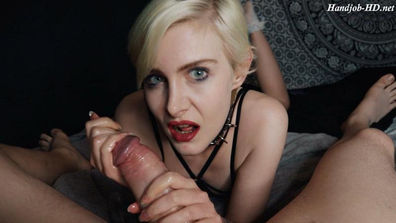 Daisy bites the cum out biting handjob – SimonCrow