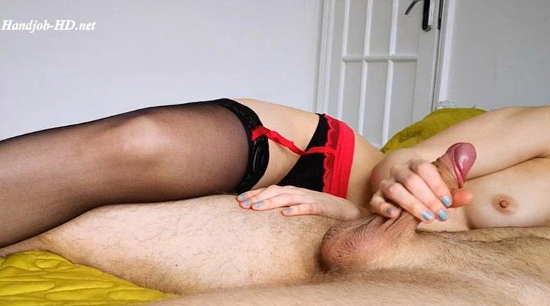 Edgy handjob ruined orgasm – PetitTits