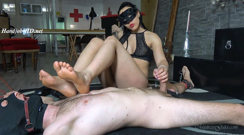 Mistress Gaia – Bound Gagged & Teased
