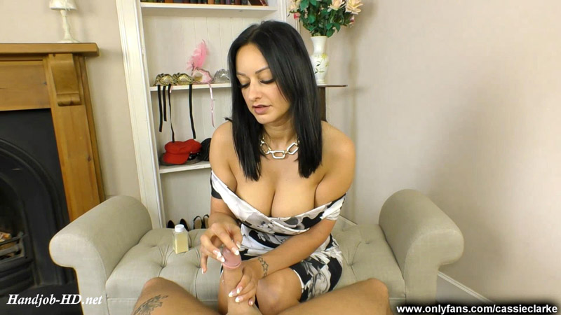 Nail Therapy Handjob Session – Cassie Clarke