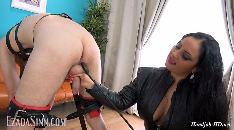 Pony milking on the bench – Mistress Ezada Sinn
