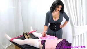 Sissy Post Orgasm Tickle Torture – Forced By Mommy