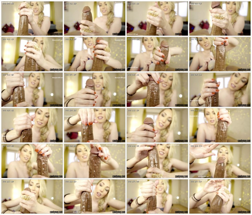 Bijou Handjob Slow handjob with vibrator – Candy May_scrlist