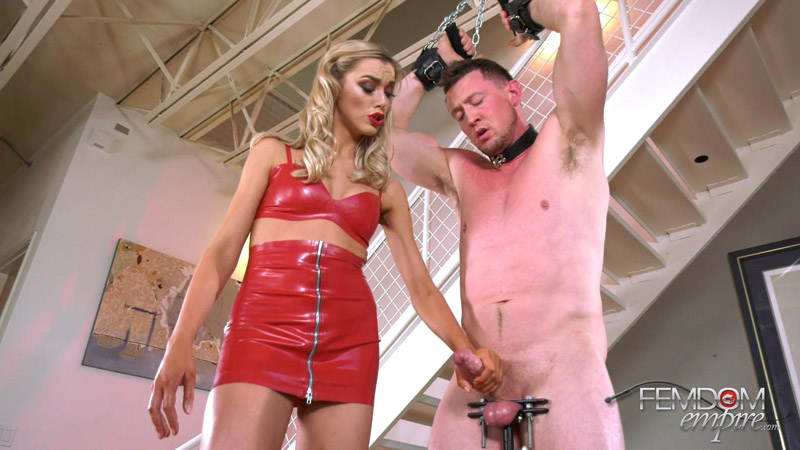 Blown Out Nuts - Femdom Empire - Anny Aurora