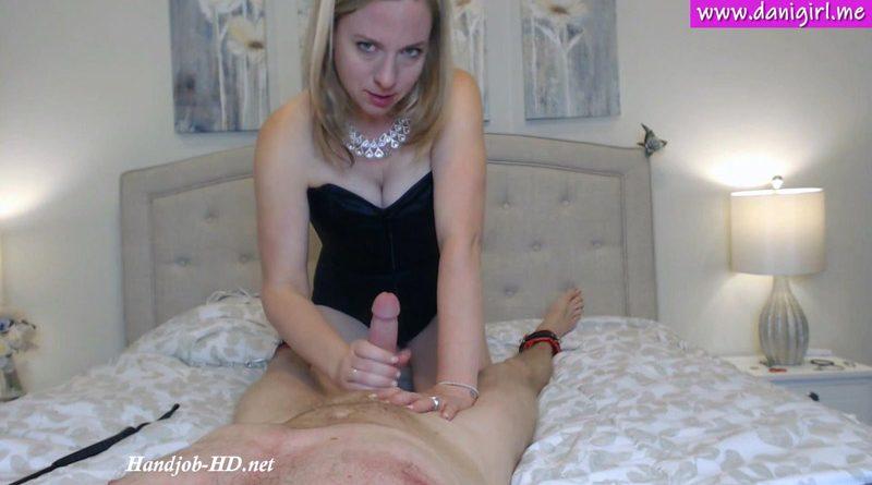 Femdom POV cruel handjob blowjob – Danigirl866