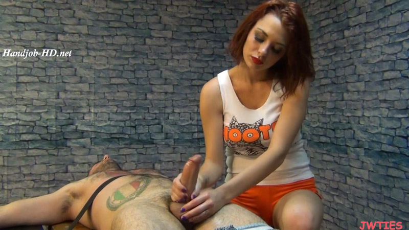 Unhappy Hooters Girl – Tickled and Abused Males – Jessica Robbin